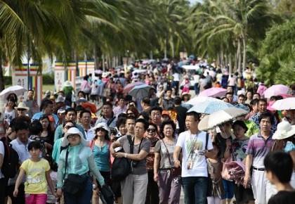 国庆假期前4天全国接待国内游客5.02亿人次