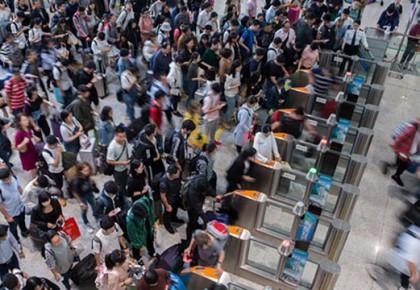 国庆假期全国铁路累计发送旅客突破1.3亿人次,多项运输指标创历史新高