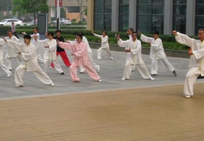 省首届社区太极拳比赛在东北师范大学综合体育馆落幕