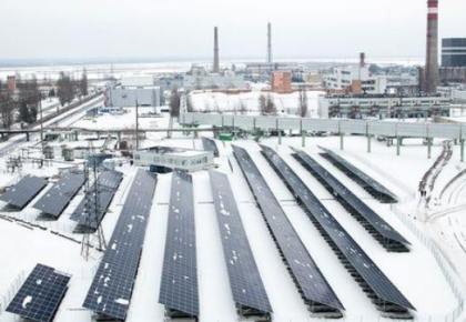 32年后重见天日 切尔诺贝利核废墟太阳能发电厂正式运营