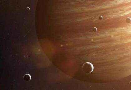 """12日天宇上演""""木星合月"""" 记得欣赏""""星月童话""""哦!"""