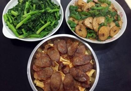 晚饭黄金比例 蔬菜:肉:饭 = 2:1:1