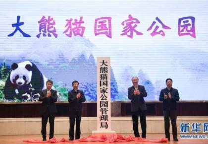 大熊猫国家公园管理局在成都揭牌成立