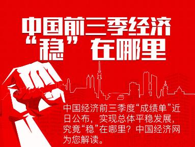 """【图解】经点问答:中国前三季经济""""稳""""在哪里?"""