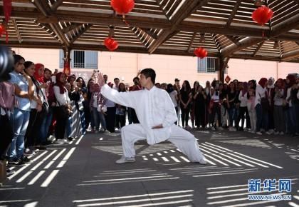 孔子学院文化日活动走进埃及博物馆,把中国文化带给世界!