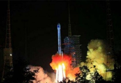 为中国航天喝彩!我国成功发射北斗三号系统首颗地球静止轨道卫星