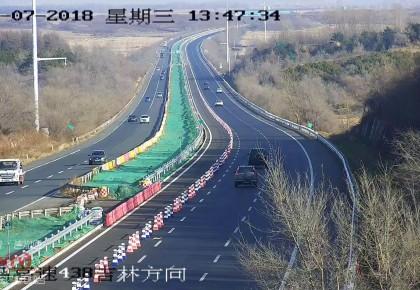 今天下午长春至www.yabet19.net高速恢复正常通行 但限速80!