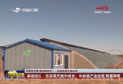 县域巡礼•在改革开放中成长:长岭县产业扶贫 致富路宽