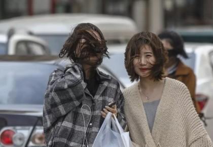 长春市9级大风过后 气温开始大起大落