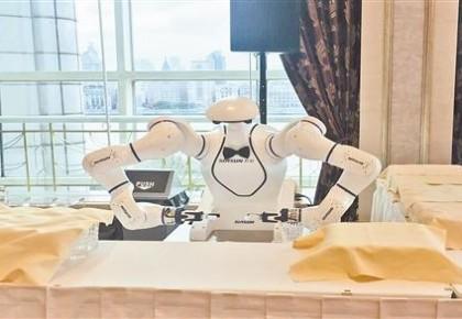 人工智能贯穿进博会各功能区和展区