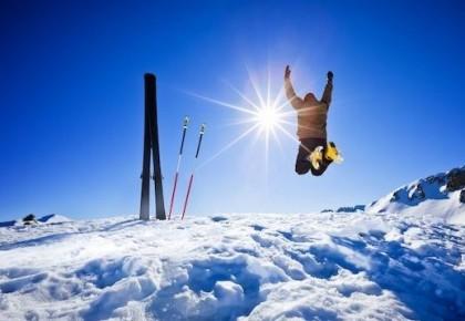 国家集训队进校园,为阿尔山小学普及滑雪知识