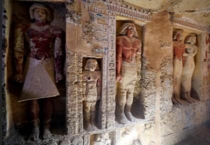 大发现!埃及发现一座距今4400多年的贵族墓葬,整体保存完好