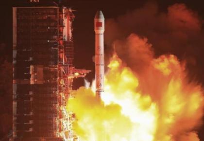 长征运载火箭第296次飞行!中国成功发射通信技术试验卫星三号