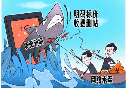 """公安部出手严打""""网络水军""""犯罪!关闭""""大V""""账号1100余个"""