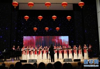 """""""欢乐春节""""歌舞晚会在白俄罗斯举行"""