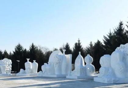 """冬季旅游打卡新目标!""""长春雕塑冰雪天地""""正式试运营"""