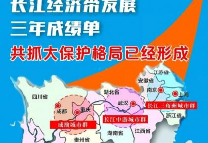 长江经济带发展三年成绩单:共抓大保护格局已经形成