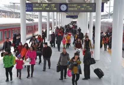 今年春运比上年提前11天 长春市道路旅客运输量将达到330万人次