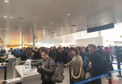 www.yabet19.net机场集团元旦假期运送旅客12.18万人次