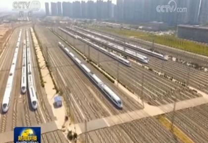 基础设施补短板全国铁路大调图 客货运输能力双双提升