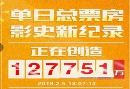 春节档首日票房已达12.78亿,创下国内单日票房新高