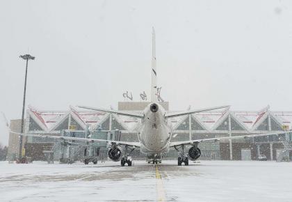 雪具托运更方便!长白山机场为雪季旅客搭建便利服务通道