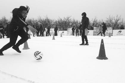 第一届全国农民冰雪项目运动会开幕