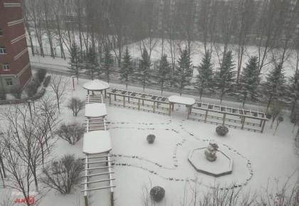长春今早迎降雪!龙嘉机场、多个高速路段暂时关闭
