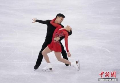 祝贺!隋文静/韩聪再夺世锦赛双人滑冠军