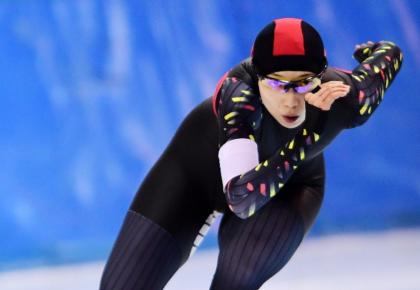 全国速滑冠军赛 李奇时夺得女子1000米冠军