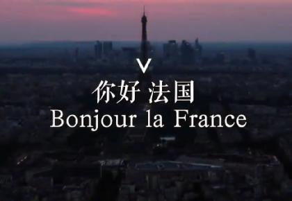 你好 法国