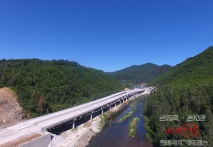 集安至通化高速公路全面复工 年内实现通车