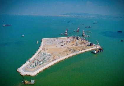 """超级工程""""深中通道""""开工建设 难度或超越港珠澳大桥"""