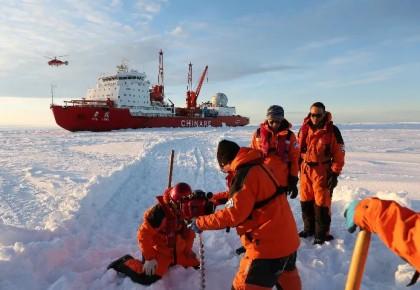 """经过131天、3万海里航行""""雪龙""""归航 中国第35次南极考察取得多项成果"""