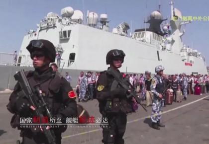 燃!迎接70华诞,海军发布了一个震撼视频