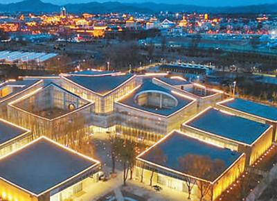 北京世园会生活体验馆—— 有阡陌交通 是田园集市(北京世园会风采)