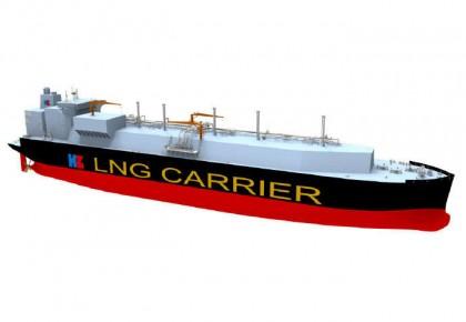 中国将开发世界最大LNG运输船 预计2020年底完成研发
