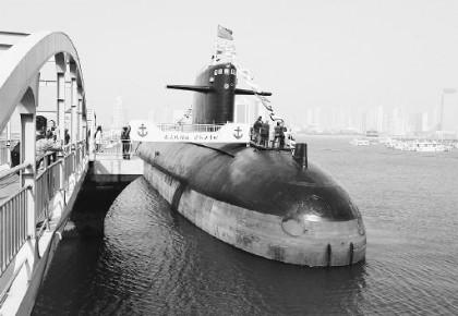 中国第一艘核潜艇:四点六万个零部件全部自主研制