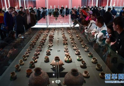 归来!意大利返还中国流失文物展在国博展出