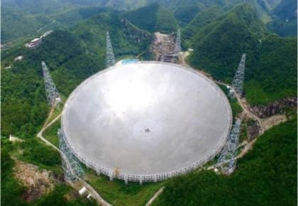 """""""中国天眼""""射电望远镜通过工艺验收 向国内天文学家试开放"""