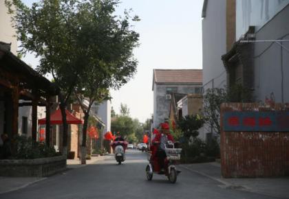 张庄,幸福路上的村庄