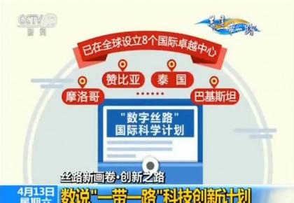 """【丝路新画卷·创新之路】数说""""一带一路""""科技创新计划"""