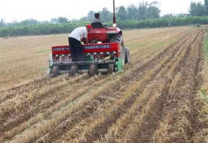 明天气温回升,提醒农民朋友抓紧有利时机播种!
