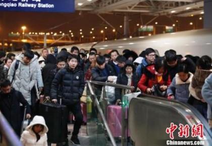 鐵總:清明假期全國鐵路預計發送旅客5260萬人次