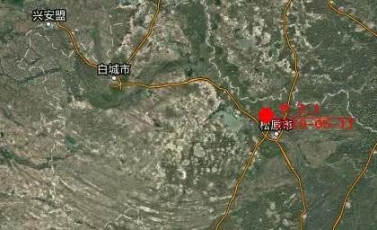 刚刚!吉林松原市前郭尔罗斯县附近发生3.1级地震