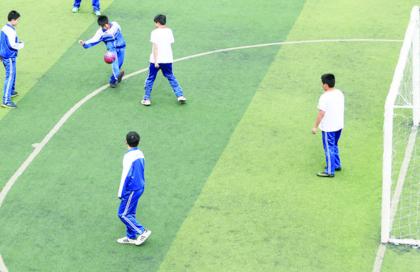 中考体育第一年加入足球测项 长春中心城区1169名学生选考