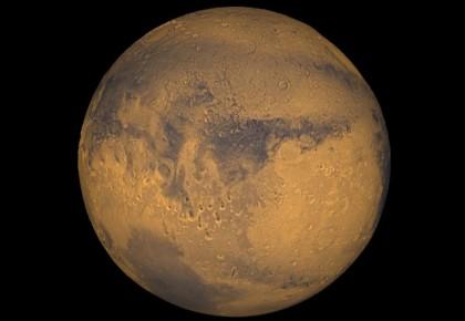 """科學家:火星或曾是類似地球的藍色""""水世界"""""""