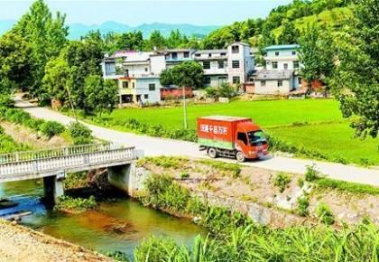 前4月农村快递业务量增速超30% 比城市高7%以上