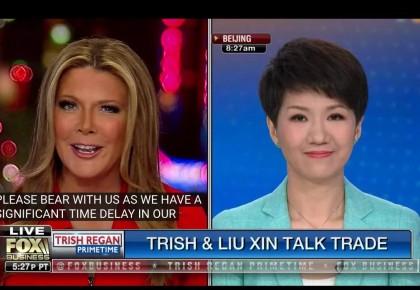"""一场中美关注的女主播""""辩论"""",显示美国对中国有多不了解;网友:感谢节目提供了解彼此的好机会"""