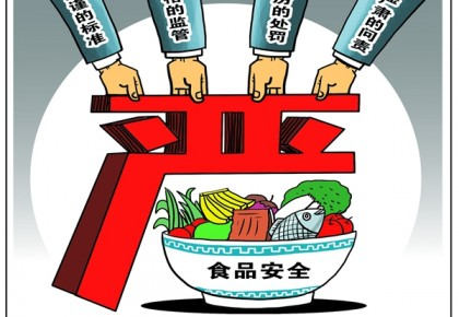 """新华网评:以""""四个最严""""织牢食品安全防护网"""